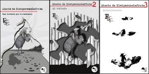 """""""Una travesía por Grutalandia"""", """"El Poblado"""" y """"Exteriorlandia"""". Ilustraciones de Selu Sánchez"""