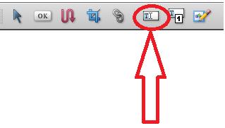 "Herramienta ""Retocar texto"" de Adobe"