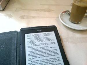 Kindle y café