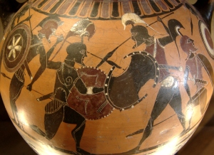 Amphora warriors Louvre - Fotografía de Bibi Sait Pol